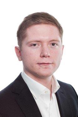 StormGeo employee Øyvind Wien Nicolaysen