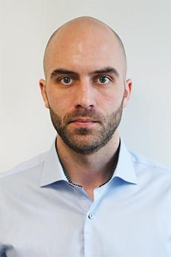 StormGeo employee Simen Bomnes Valåmo